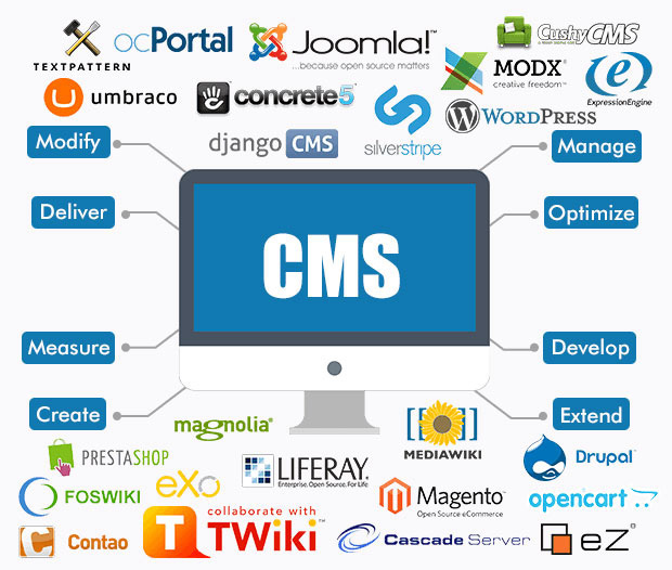 CMS-CRM-LMS design and development services and solutions