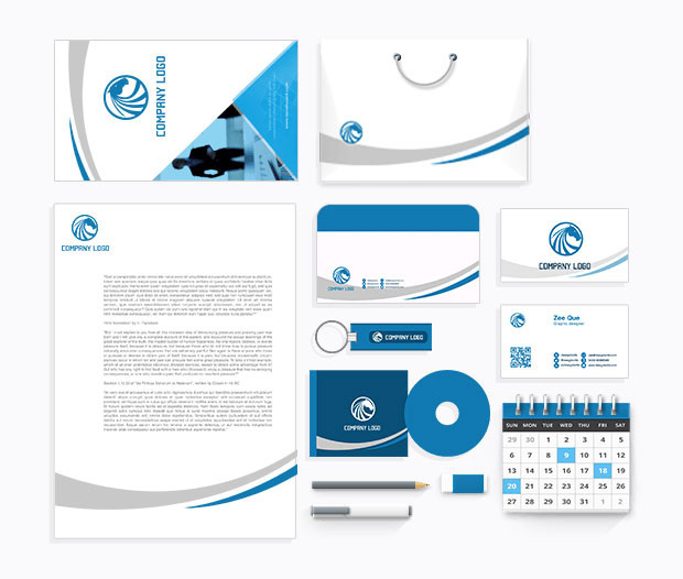 Print and graphic design services