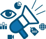 Online marketing services for SEO, SEM, SMM, CRO, online PR and display advertising